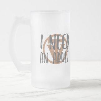 TrueVanguard Bier-Tasse - ich benötige einen Mattglas Bierglas