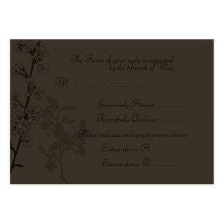 Trüffel (Hochzeits-Wartekarte) Jumbo-Visitenkarten