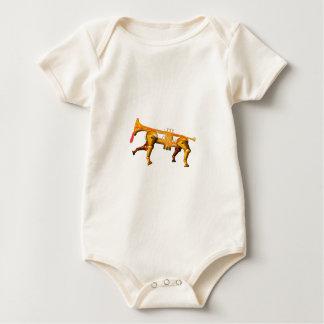 trum Haustier Baby Strampler