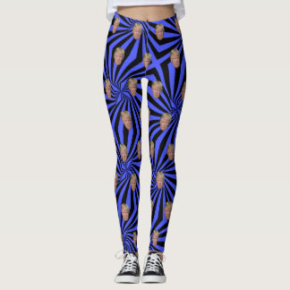 TRUMP-BLUE BLENDEN LEGGINGS