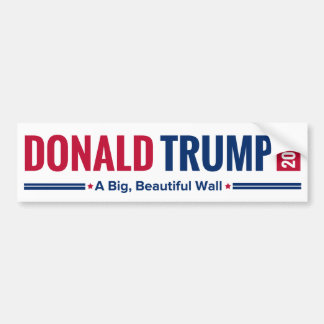 Trumpf 2016 - Eine große, schöne Wand! Autoaufkleber