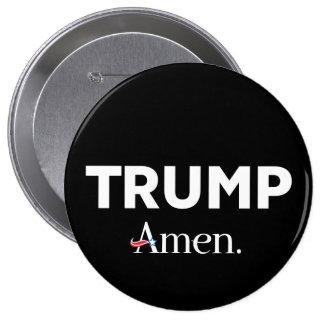 Trumpf amen runder button 10,2 cm
