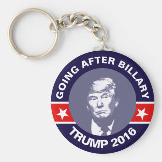 Trumpf, der nach Hillary (Parodie, geht) Schlüsselanhänger