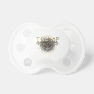 Trumpf - der Präsident Baby Pacifier Schnuller