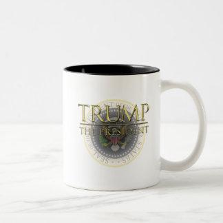 Trumpf - der Präsident Black 11 Unze Zwei-Ton Zweifarbige Tasse