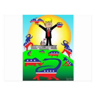 Trumpf-Einweihung 2 Postkarte