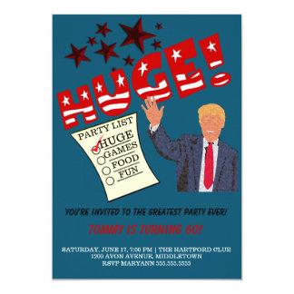 Trumpf-ENORME bestste Party-überhaupt Party Karte