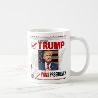 Trumpf gewinnt Vorsitz Kaffeetasse