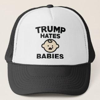 Trumpf hasst Babys Truckerkappe