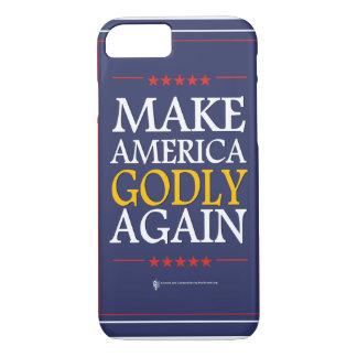 Trumpf - iPhone Fall: Machen Sie Amerika göttlich iPhone 8/7 Hülle