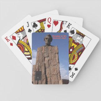 Trumpf ist keine ehrlichen Abe Spielkarten