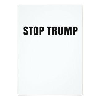 Trumpf ist nicht mein Präsident Karte