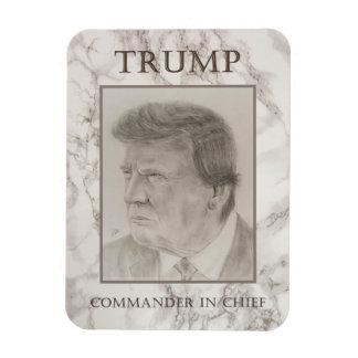 Trumpf, Kommandant - herein - Leiter Vinyl Magnet