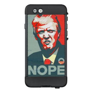 """Trumpf """"Nope"""" Plakat LifeProof NÜÜD iPhone 6 Hülle"""