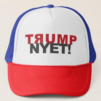 TRUMPF NYET!  HÜTE, TASSEN und anderer Gang Truckerkappe