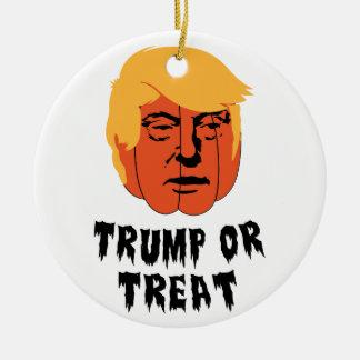 Trumpf oder Leckerei Keramik Ornament