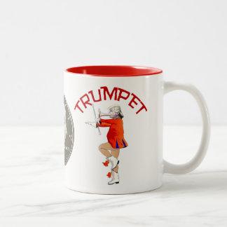 Trumpf-Parade Zweifarbige Tasse