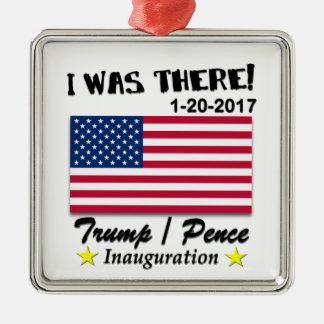 Trumpf Penc e2017 war ich dort Einweihung 2017 Silbernes Ornament