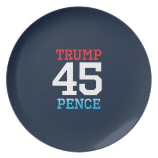 Trumpf-Pennys 45 Teller