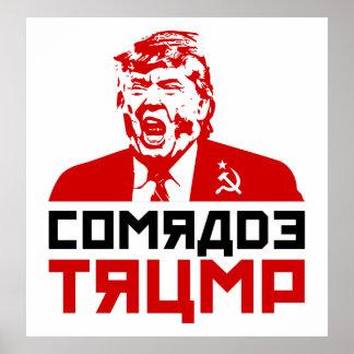 """Trumpf-Protest-Plakat 2017: """"KAMERAD TRUMP """" Poster"""