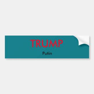 Trumpf-/Putin-Autoaufkleber Autoaufkleber