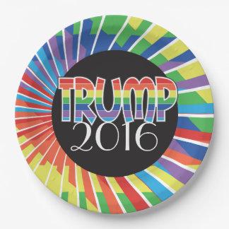 TRUMPF Regenbogen-Party 2016 liefert Wahl-Gang Pappteller