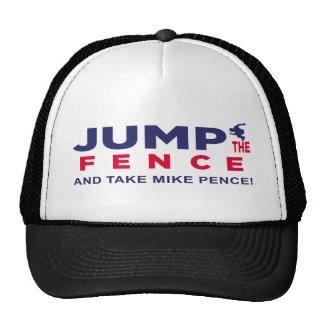Trumpf-Sprung der Zaun Retromütze