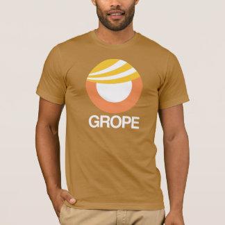 TRUMPF-SYMBOL - HERUMTASTEN -- Anti-Trumpf Entwurf T-Shirt