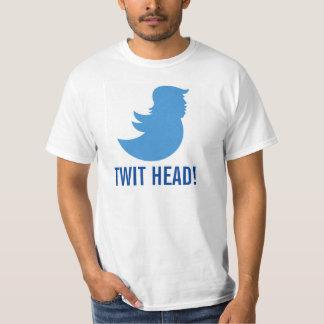 """Trumpf-T - Shirt: """"TWIT-KOPF """" T-Shirt"""