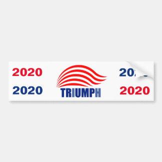 Trumpf-Triumph-Autoaufkleber 2020 Autoaufkleber