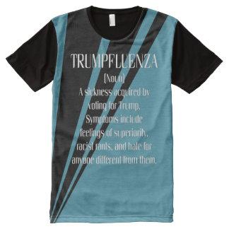 Trumpfluenza Definition T-Shirt Mit Bedruckbarer Vorderseite