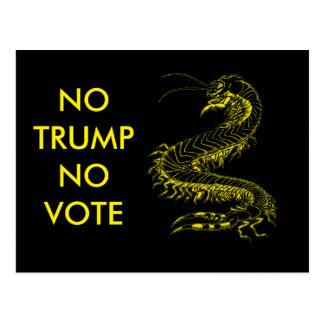 Trumpfpostkartenkampagne Postkarte