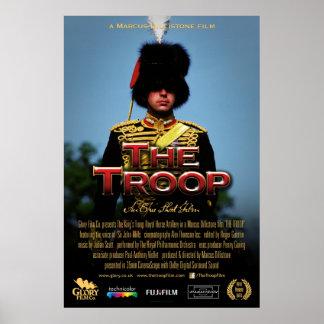Truppe-Offizierfilmplakat 61cm x 91cm Poster