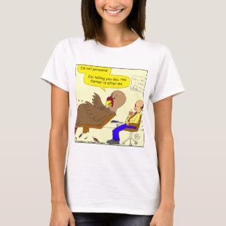 Truthahn-Cartoon mit 517 Paranoikern T-Shirt