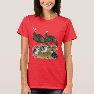 Truthahn-östliche wilde Familie T-Shirt