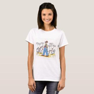 Truthähne, die den Bauern betrügen T-Shirt