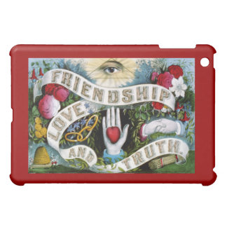 Truthpainting Freundschafts-Liebe Hülle Für iPad Mini