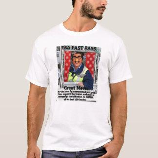 TSA fasten Durchlauf… Fliegen-Herumtasten gibt T-Shirt
