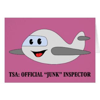 TSA offizieller Kram-Inspektor Karte