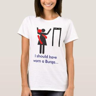 TSA Suche Burqa T-Shirt