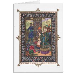 Tsarevna Elena die Messe mit ihrem Karte