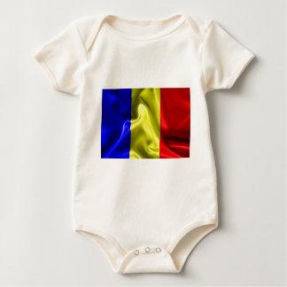 Tschad-Flagge Baby Strampler