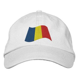Tschad-Flagge Bestickte Baseballkappe