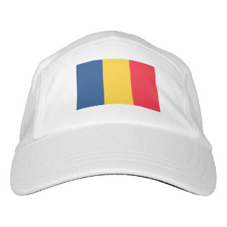 Tschad-Flagge Headsweats Kappe
