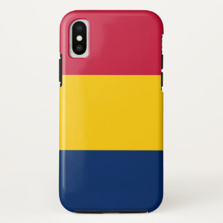 Tschad-Flagge iPhone X Hülle