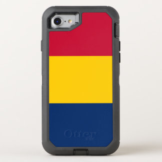 Tschad-Flagge OtterBox Defender iPhone 8/7 Hülle