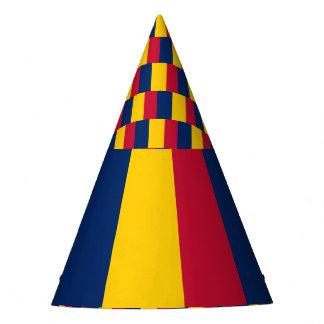 Tschad-Flagge Partyhütchen