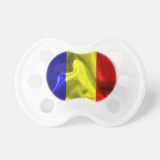 Tschad-Flagge Schnuller