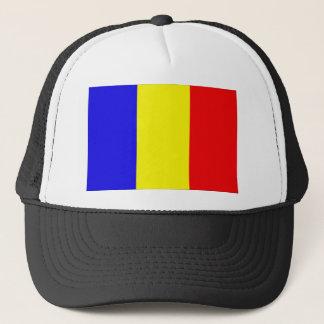 Tschad-Flagge Truckerkappe