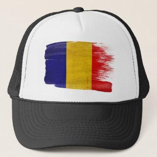 Tschad-Flaggen-Fernlastfahrer-Hut Truckerkappe